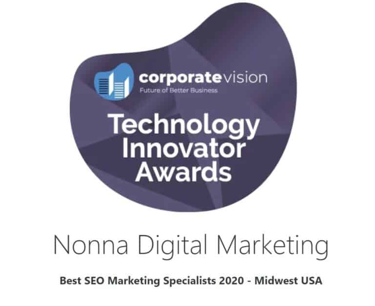 nonna digital marketing award